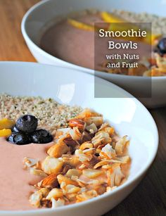 A Smoothie Bowl with Nuts and Fruit is a great idea for a fresh start to your day. Check out this recipe which gives you the best combination of fruit, nuts, and flavor.