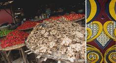 A market in Porto-Novo, Benin
