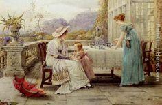 Imágenes Victorianas: Tarde de té