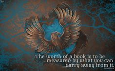HP Wallpaper : Ravenclaw Lightning (with quote) by TheLadyAvatar.deviantart.com on @DeviantArt