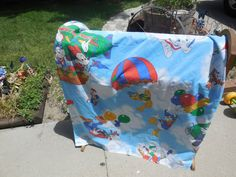 Vintage Disney Character's Twin Size Flat by Daysgonebytreasures, $18.00