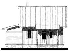 Dula Springs Cabin House Plan Design from Allison Ramsey Architects Guest House Plans, Cabin House Plans, Beach House Plans, New House Plans, Garage Apartment Plans, Garage Plans, Lowcountry House Plans, Prefab Cottages, Loft Floor Plans