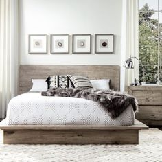 The Midtown solid wood grey bedroom set will bring modern charm and harmony to your master retreat with its fresh modern look and rustic finish. Constructed of three solid woods, Mahogany, Mango and Mindy woods, this modern platform bed set brings durability and unmatched quality. All drawers fea... #AffordableLuxuryBedding