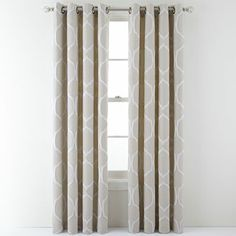 I have these drapes still in the package - in the lead color.  They are a greyish beige but the border of the diamond pattern is a blue grey.