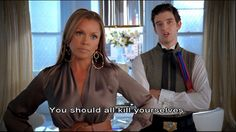 Kill yourselves ~ Willhemina ~ Ugly Betty ~ Quotes #uglybettyquotes