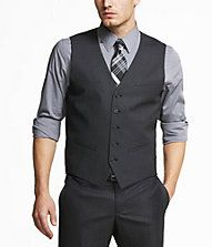 I love a grey vest. Great with a tshirt or button shirt.