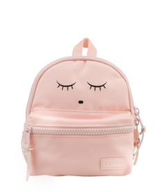 Livly Baby - Mini Backpack - Sleeping Cutie Pink: Adventurers with our our new Sleeping Cutie Backpack has never been so fun (or cute!) An absolute es Mini Backpack, Backpack Bags, Leather Backpack, Fashion Backpack, Light Pink Backpack, Bunny Bags, Day Bag, Girl Gifts, 3 D