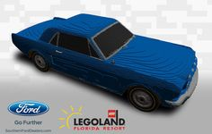 COMING THIS FALL: An American classic born in 1964 will be reborn in bricks at LEGOLAND® Florida Resort