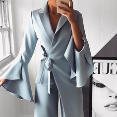 Women wear Elegante formelle Party Strampler Arbeitskleidung Jumpsuit - Putshy The History of Citize Long Jumpsuits, Jumpsuits For Women, Playsuits, Jumpsuit With Sleeves, Dress Pants, Dress Shoes, Work Wear, Party, Lace