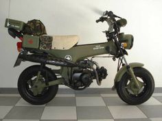 Transformación Honda ST-70 (militarizada)