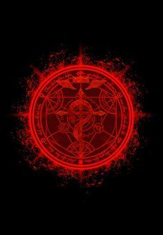 """Human Transmutation Circle. Fullmetal Alchemist"" Posters by LAZARE-TENDO | Redbubble"