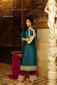 Khwaab Original 2105 Wedding Season Special Semi Stitched Salwar Kameez - http://member.bulkmart.in/product/khwaab-original-2105-wedding-season-special-semi-stitched-salwar-kameez/