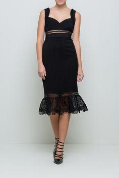 Olivia Midi Dress   Sauce eShop #lbd