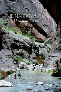 Must-do hike: The Narrows in Zion National Park