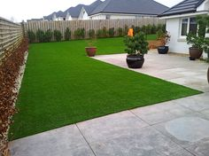 Artificial turf has become incredibly popular over the last few years. Because we are consistently in droughts and juggling between weather changes, artificial grass is a smart way to still maintain a gorgeous landscape without having to do any work. Your grass will be green, all year round! Did we mention that it is completely safe for children and pets? Our grass does not use any type of chemicals or toxins and is all natural to the environment.