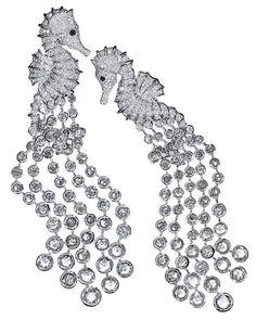 Chopard Seahorse Earrings