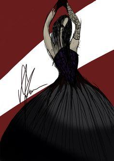 #fashion #moda #fashiondesign #gothic #goth #lace #corset #blood #design #fashiondesigner #designer #style #look #digitalart #digital #art