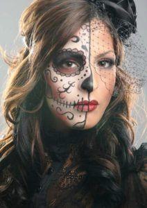 ideas sugar skull make-up female