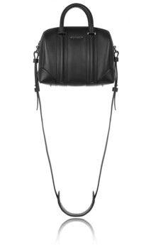 Givenchy Mini Lucrezia bag in black leather   NET-A-PORTER