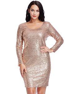 69bd5607 Plus Size Christmas Party Dresses. Plus Size DressesClub DressesShort  DressesCheap DressesWomen's DressesEvening DressesChampagne DressSequin ...