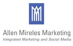 Allen Mireles Marketing logo, designed by graphic designer and artist, Jesse Mireles.