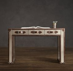 Mayfair Steamer Trunk 3-Drawer Desk desk for my office