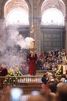 Catedral de Santiago de Compostela. Botafumeiro.