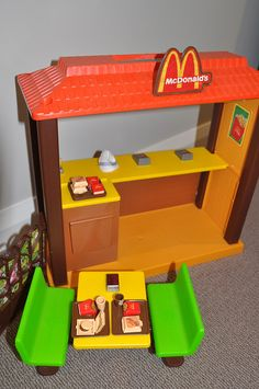 The Barbie McDonald's playset - I loved this