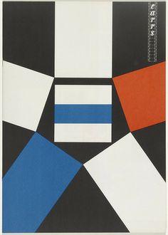 Ladislav Sutnar. Carr's. 1956-1957