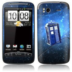 HTC Skin Cover  Tardis Doctor Who Police Call Box by stickitskins, $8.95
