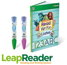 Help your child on every step of the reading journey with LeapReader, the complete learn-to-read-and-write solution.