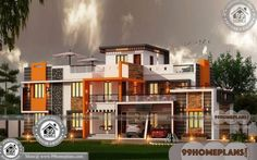 House and Floor Plans 70+ Two Storey Residential House Plans Online