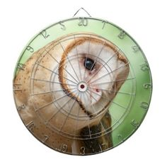 Owl Dartboard With Darts - barn gifts style ideas unique custom