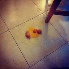Real shoot: Broken egg!