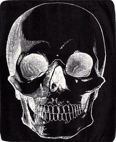 Anatomical Skull Blanket