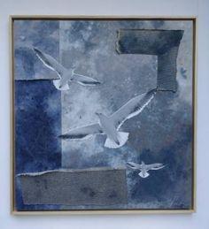 """Saatchi Art Artist Elise Black; Collage, """"Boundless Sky"""" #art"""