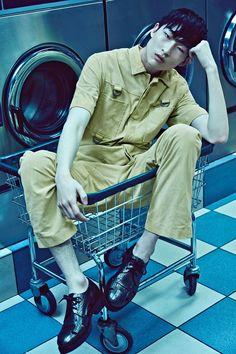 Sang Woo Kim for Paper Magazine by Brandon Mercer