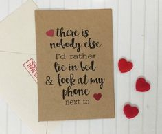 Romance doesn't have to be all about extravagant meals or staring deep into each other's eyes. $4; Etsy.com