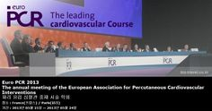 Euro PCR 2013 The annual meeting of the European Association for Percutaneous Cardiovascular Interventions 파리 유럽 심혈관 중재 시술 학회