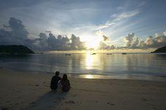 #Sunrise from Koh Phangan #Thailand