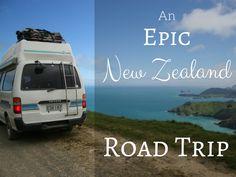 An Epic New Zealand Road Trip #travel #roadtrip #NZ