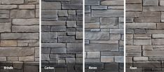 """Great Lakes Stone Veneer Height 5"""", Length 8"""", 12"""", 20"""" Available 66 square feet bulk pack or 5 square feet cases"""