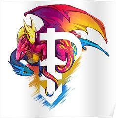 Pan Pride Dragon Poster
