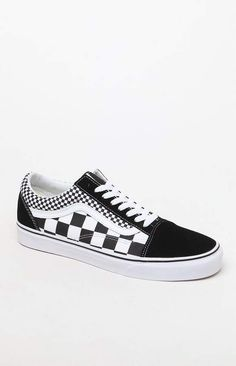 Vans Old Skool Mixed Checkerboard Shoes Vans Classic Old Skool, Vans Old Skool, Cool Vans Shoes, Me Too Shoes, Awesome Shoes, Women's Shoes, Sneakers Fashion, Fashion Shoes, Fashion Rings