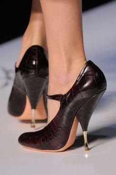 Rochas, Fall 2013 #PFW #shoes