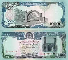 Afghanistan 10000 Afghanis 1993 Uncirculated World Currency Banknote Money Money Notes, Euro Coins, Film Photography, Street Photography, Landscape Photography, Nature Photography, Fashion Photography, Wedding Photography, Coin Collecting