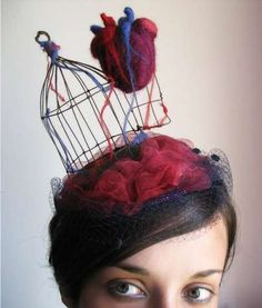 Eleonora Marchi Crafts a Hat Modeled After the Vital Human Organ trendhunter.com