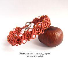 TUTORIAL МК макраме Плетем браслет с бисером - Ярмарка Мастеров - ручная работа, handmade
