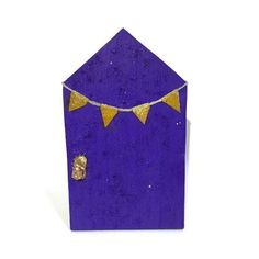 A personal favourite from my Etsy shop https://www.etsy.com/au/listing/275549662/fairy-door-purple-handmade-indoor-fairy