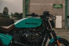 Custom Harley Street 750 tracker by NCT Motorcycles